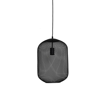 Light & Living Hanglamp Reilley 30 mat zwart