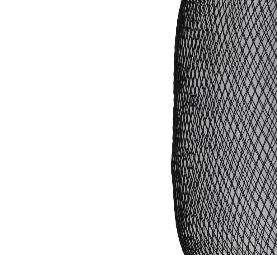 Hanglamp Reilley Ø30×42 mat zwart