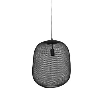 Light & Living Hanglamp Reilley 40 mat zwart