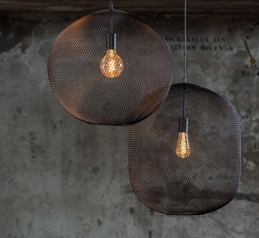 Hanglamp Reilley Ø50×56 mat zwart