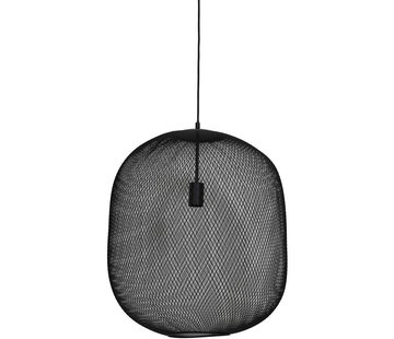 Light & Living Hanglamp Reilley 50 mat zwart