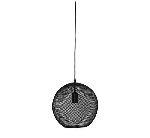 Light & Living Hanglamp Reilley rond Ø30 mat zwart