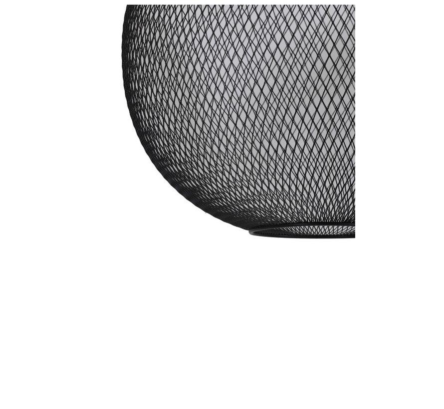 Hanglamp Reilley rond Ø30 mat zwart
