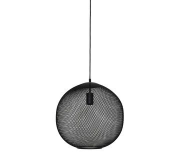 Light & Living Hanglamp Reilley rond 40 mat zwart