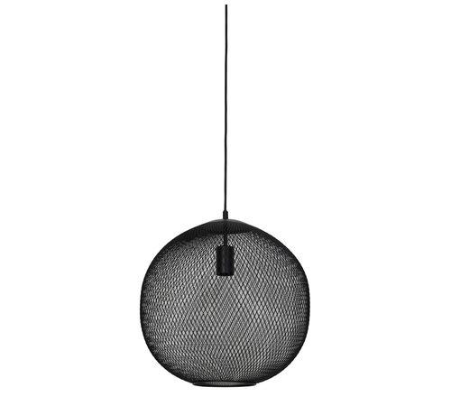 Light & Living Hanglamp Reilley rond Ø40 mat zwart