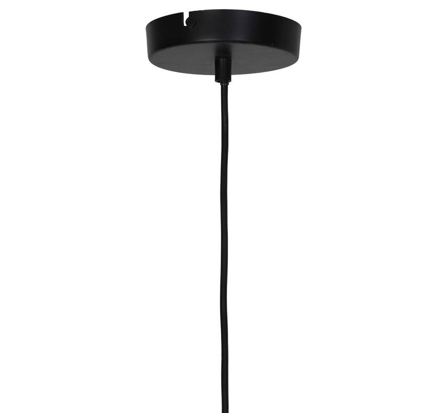 Hanglamp Reilley rond Ø50 mat zwart