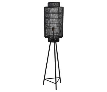 Light & Living Vloerlamp Gruaro zwart 150