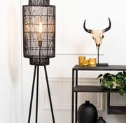 Light & Living Vloerlamp Gruaro zwart 125