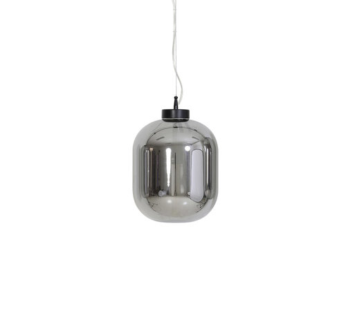 Light & Living Hanglamp Julia Ø25x30 cm Smoke Glas