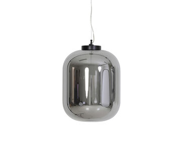 Light & Living Hanglamp Julia Ø35 smoke glas