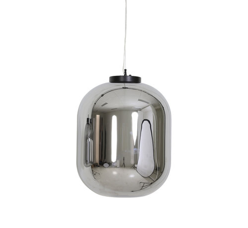 Light & Living Hanglamp Julia Ø44x53,5 cm Smoke Glas