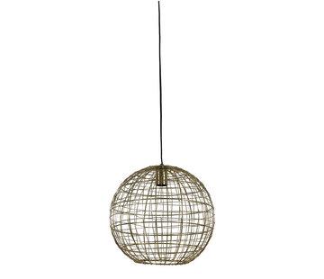 Light & Living Hanglamp Mirana Goud Ø35