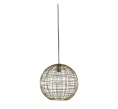 Light & Living Hanglamp Mirana Goud Ø35