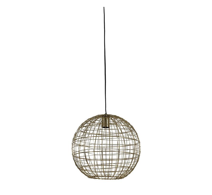 Hanglamp Mirana Goud Ø35