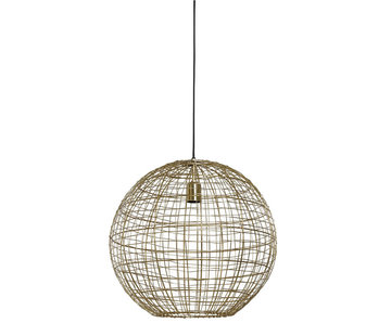 Light & Living Hanglamp Mirana Goud Ø46
