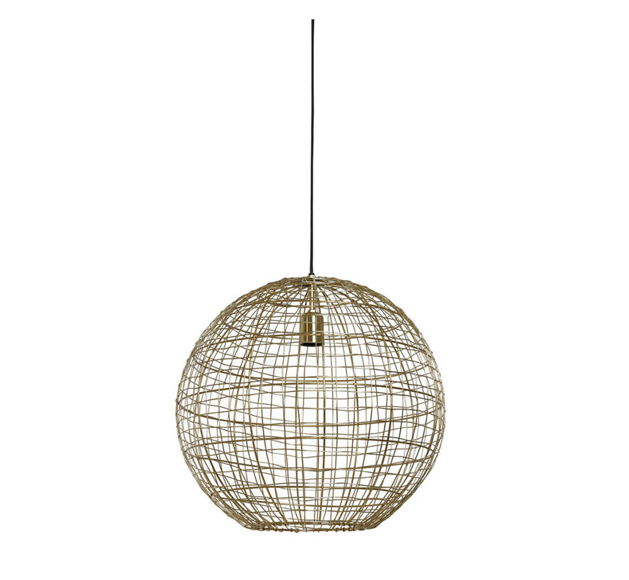 Hanglamp Mirana Goud Ø46