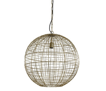 Light & Living Hanglamp Mirana Goud Ø55