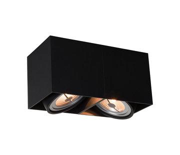 DMQ Opbouwspot New York 2-lichts Zwart