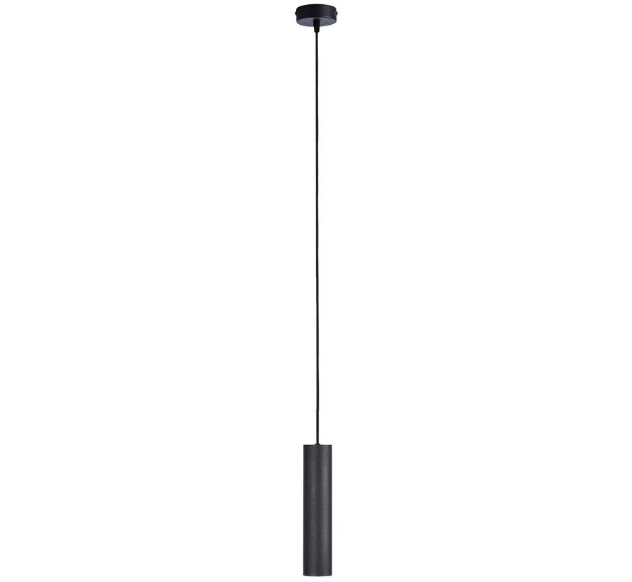 Hanglamp Elmont Tube Zwart