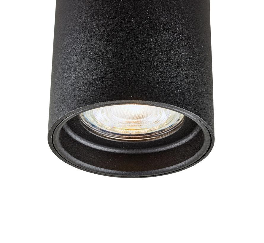 Wandlamp Elmont 2 Zwart Rond