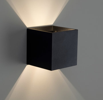 DMQ Wandlamp Macon Zwart