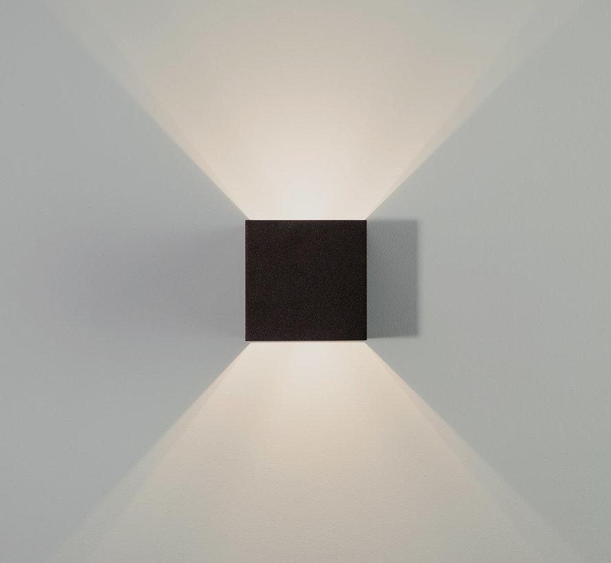 Wandlamp Macon Zwart