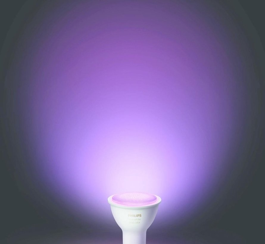 Philips Hue GU10 Duopack - White and Color Ambiance - 2 lampen - Bluetooth