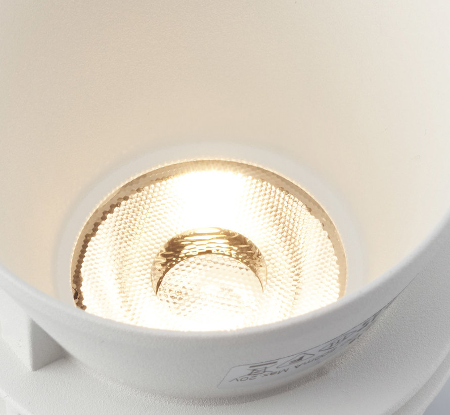 Trimless inbouwspot Moon 1 Rond Wit - IP54 LED