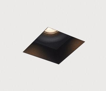 DMQ Trimless inbouwspot Rezo zwart - IP44 LED