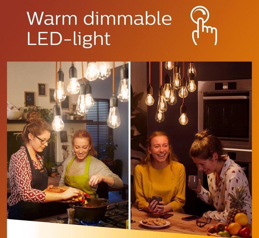 Philips GU10 LED lamp WarmGlow Dimbaar