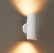 DMQ Wandlamp Elmont 2 Wit Rond