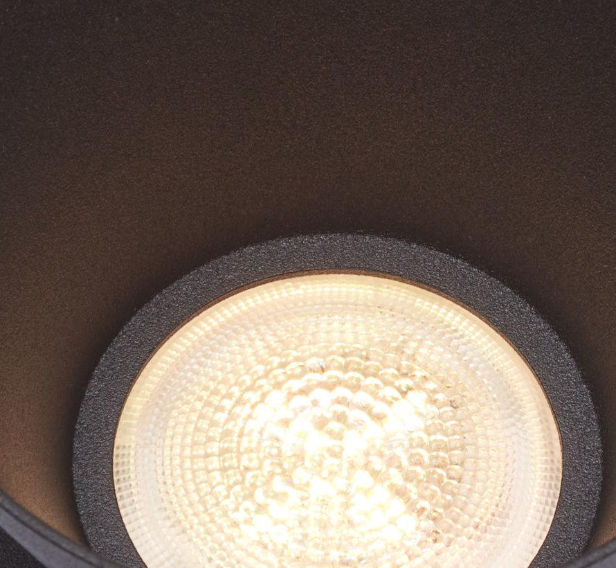 Trimless inbouwspot Moon 1 Rond Zwart -  incl LED IP54