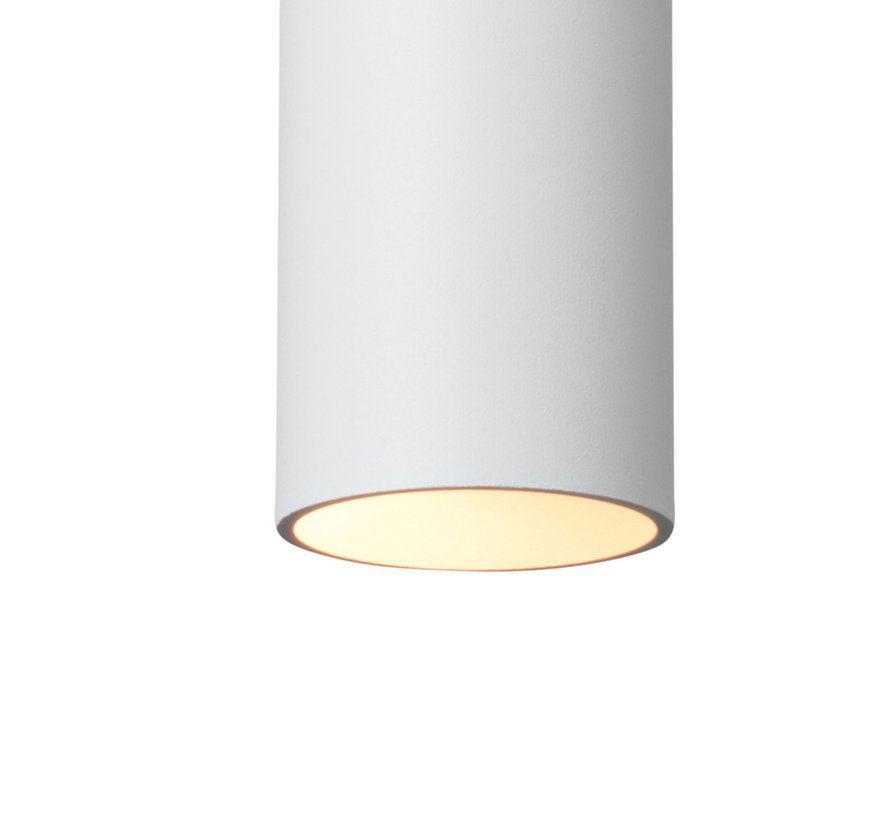 Hanglamp Elmont Tube Wit