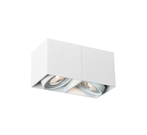 DMQ Opbouwspot New York 2-lichts Wit