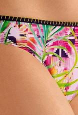 Amoena Amoena Miami chloorbestendige bikinislip voorzien mooie tropische print