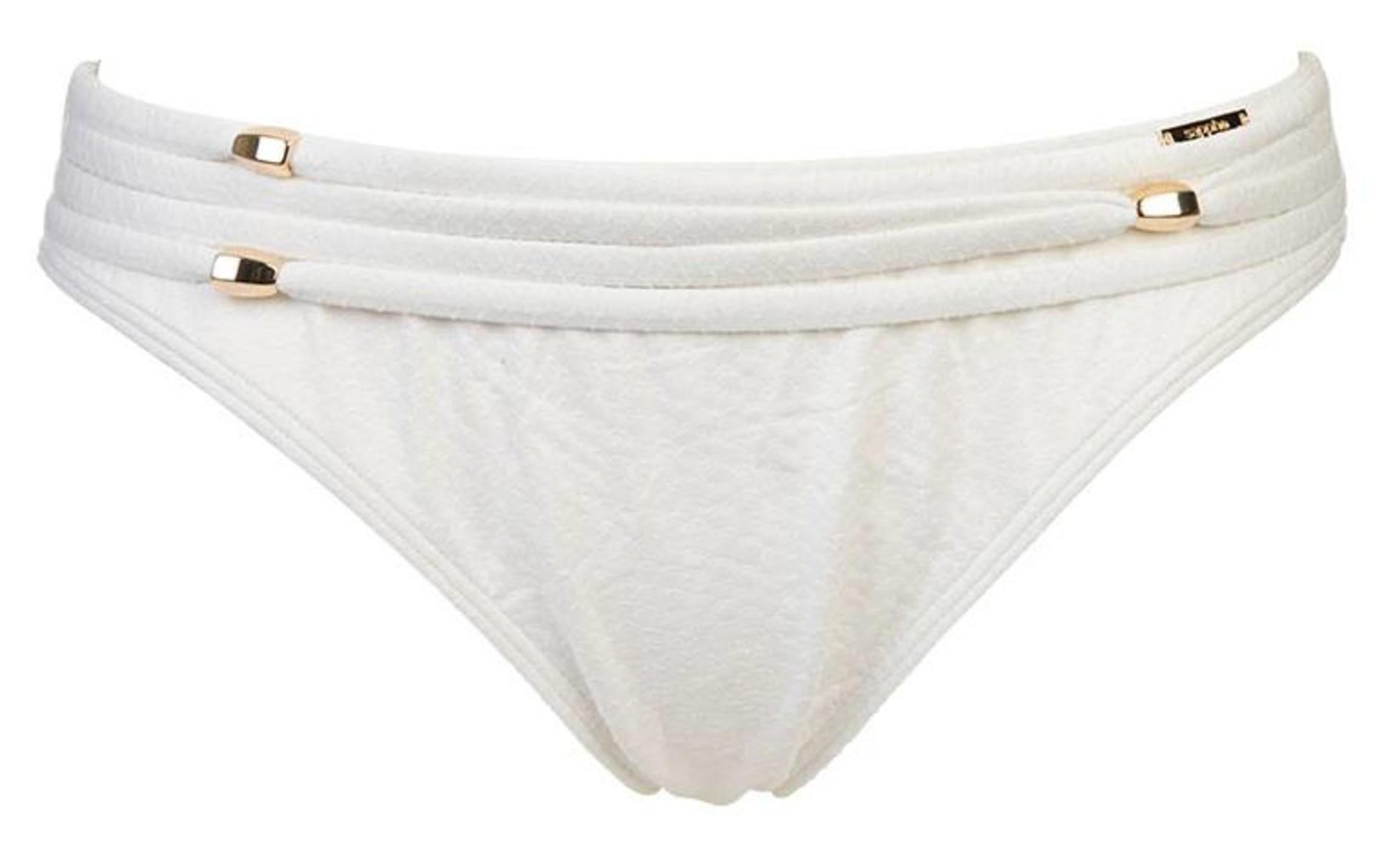 Sapph Sapph Beach Vanilla stijlvolle  bikinislip kleur Offwhite