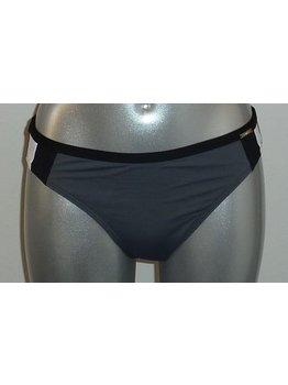 Sapph Sapph Whitehaven Beach Bikinislip mt L kleur grijs met wit & zwart