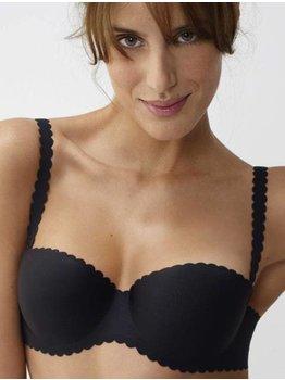 Dim ondergoed Dim Body Touch Bandeau Bh met voorgevormde cup mt B80 kleur nude