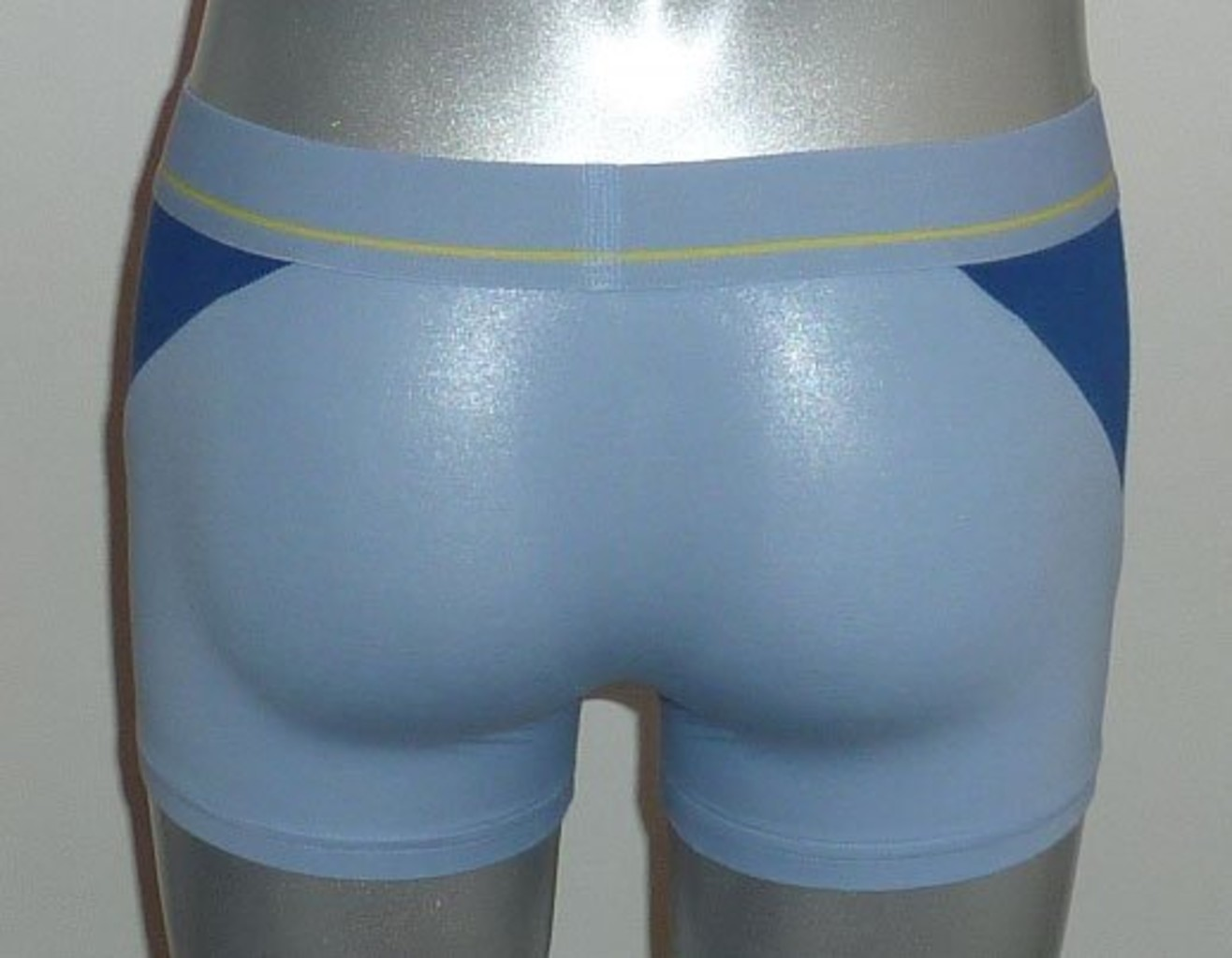 Dim ondergoed Dim Athletic Style katoenen Boxershort mt S & XL kleur blue