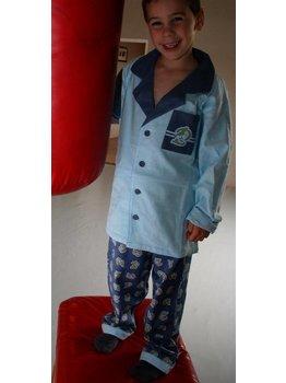 Studio 100 Studio 100 Piet Piraat flanellen jongens pyjama mt 128