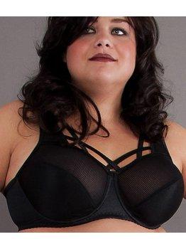 Syl Design Syl Design Kali Bh met beugel & vaste sierbandjes kleur zwart