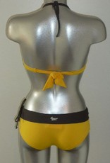 Banamoon  Marco After Bandeau bikinitop met shorty kleur geel mt  36 of 38