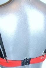 Sapph Sapph Roxy Bh met licht Push-up effect kleur rood bies zwart mt A70 & B70