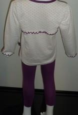 Lunatex Lunatex Little Twinkle Star katoenen meisjes pyjama