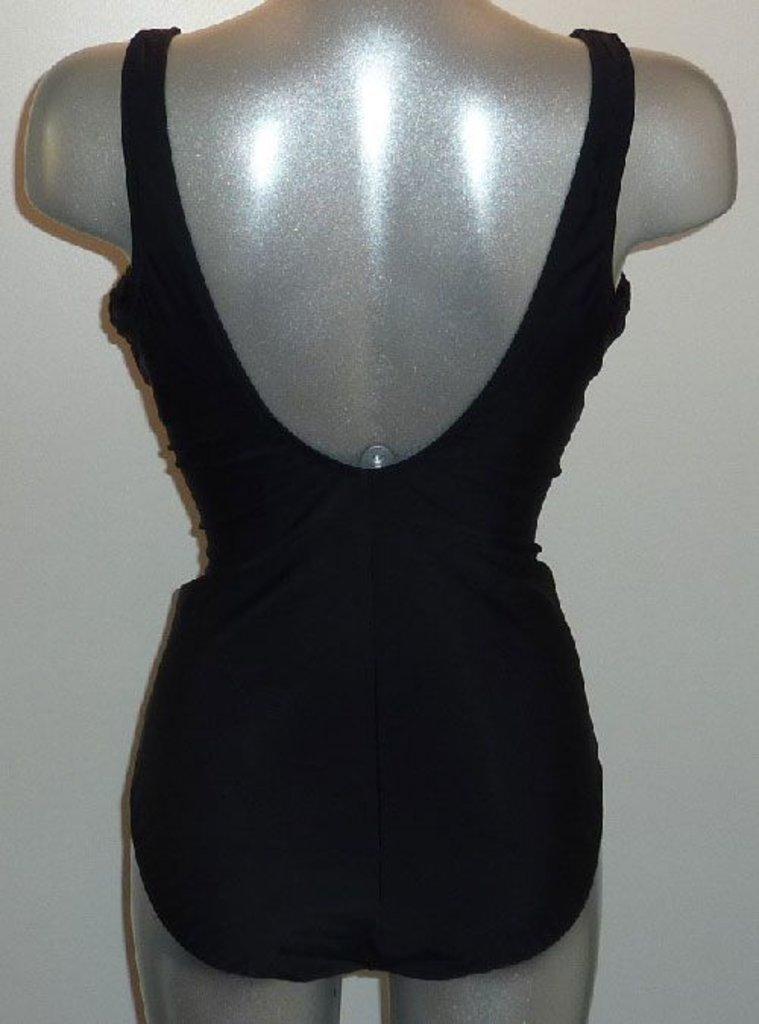 Susa Zita chloorbestendige prothese badpak zonder beugel & lichte voorvorm zwart met print gecombineerd