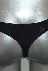 Wonderbra Wonderbra microfaser naadloze basis String in zwart, wit, ivoor  of skin kleur