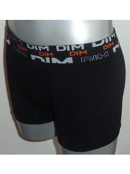 Dim ondergoed Dim skin naadloos boxershort set kleur zwart & oranje mt M