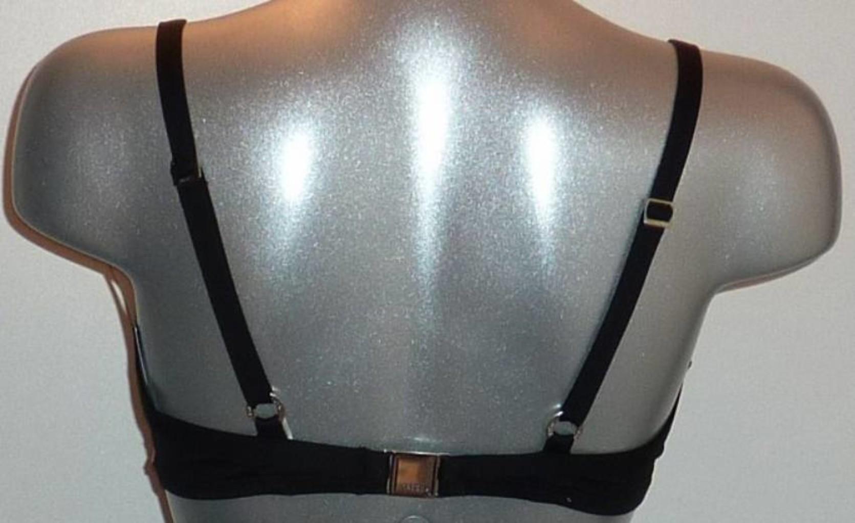 Sapph Sapph Caya Bay Bikinitop met beugel & voorgevormde cup mt D95 zwart met wit