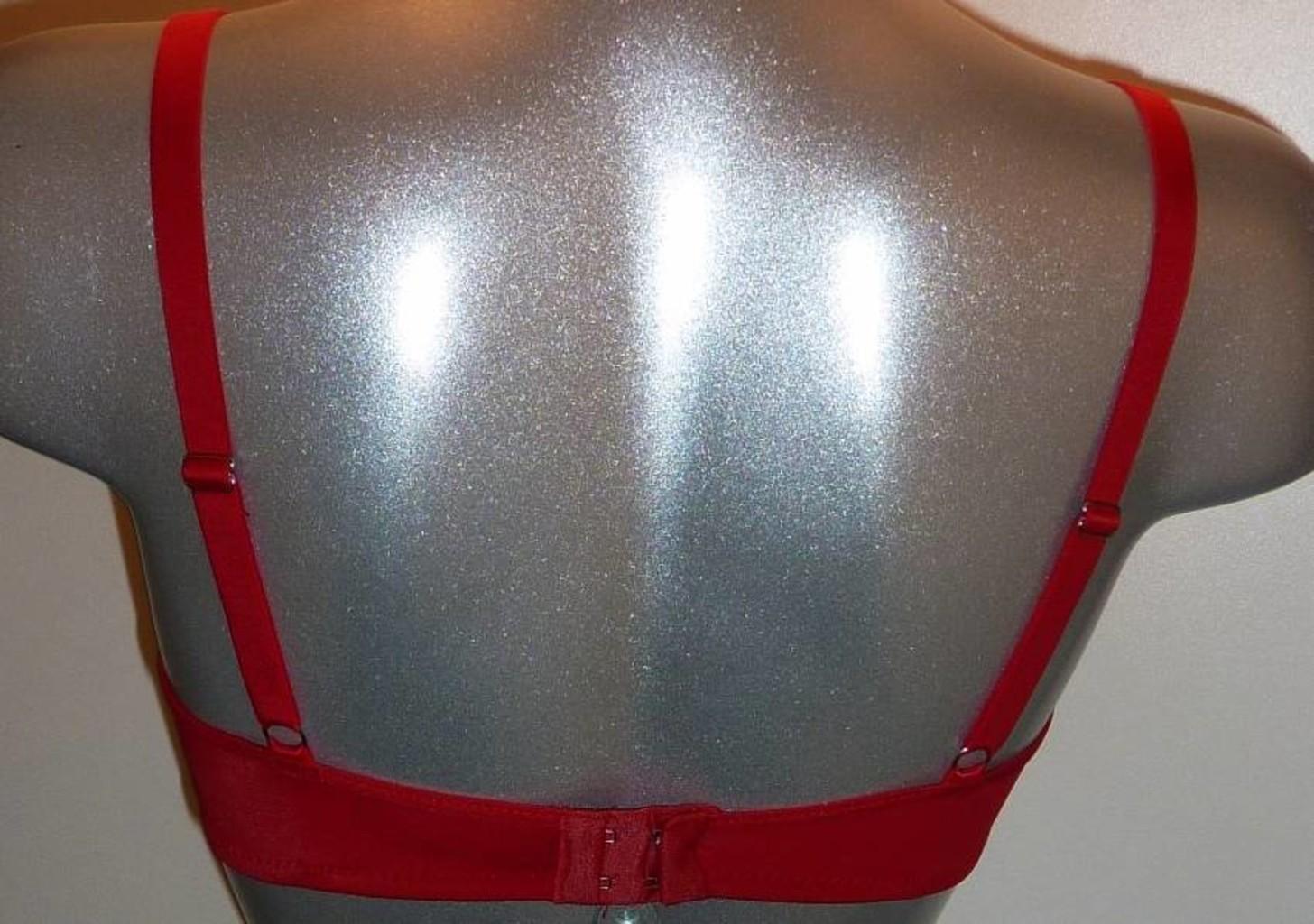 Sapph Sapph Fortuny Bh met licht voorgevormde cup kleur rood mt A70,B70 & C70