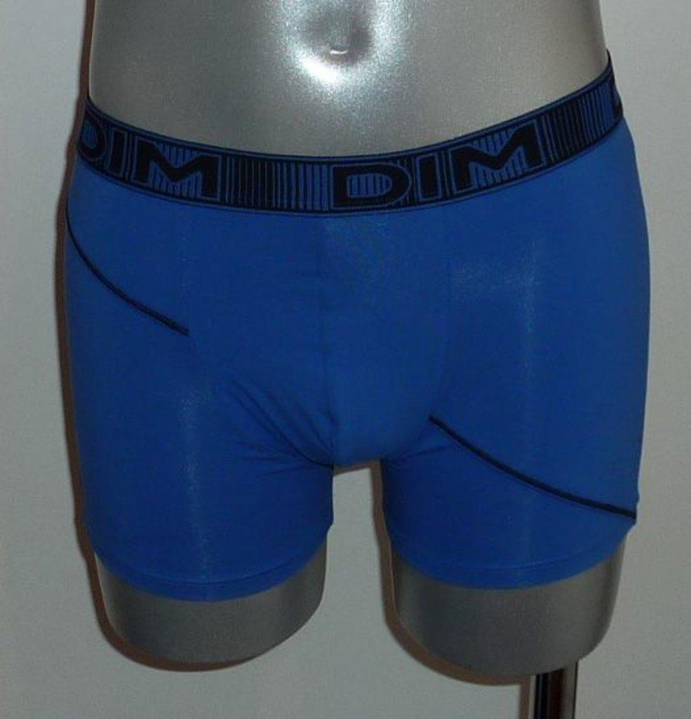 Dim ondergoed Dim 3D Flex Fashion Boxershortset kleurencombinatie blue & zwart of violet & zwart